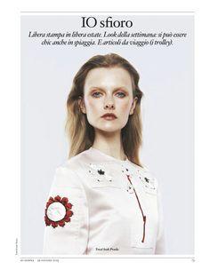 LIBERTÀ DI STAMPA: KAMILA FILIPCIKOVA BY AMY TROOST FOR IO DONNA 29TH JUNE 2013