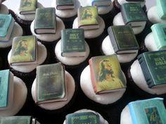 My book cupcakes