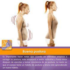 Corregir una mala #postura no es ni rápido, ni sencillo, ni indoloro, pero merece la pena adoptar mejores hábitos posturales. Simplemente no esperes resultados rápidos. Vigila tu postura y sé constante.