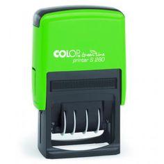 Colop Printer S 260 Green Line 45x24 mm - Colop Green Line Datumstempel - Individuelle Datumstempel und Ziffernstempel - Produkte - stempel-...