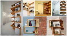 Rafturi si etajere pe colt sau cum sa folosim inteligent spatiul din casa