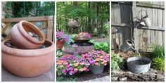 7 Backyard Fountains You Can Make Yourself  - CountryLiving.com