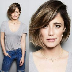Most beloved Bob hairstyles for women - Hair Color İdea Pretty Hairstyles, Easy Hairstyles, Hairstyle Short, Hairstyles 2018, Bob Haircut 2018, Medium Hair Styles, Short Hair Styles, Angled Bob Hairstyles, Bob Haircuts