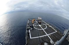 CARIBBEAN SEA (Oct. 10, 2012) Sailors aboard the guided-missile frigate USS Underwood (FFG 36) participate in a small arms qualification. Underwood is deployed to Central and South America in support of Operation Martillo and U.S. 4th Fleets mission, Southern Seas 2012. Americas Sailors are Warfighters, a fast and flexible force deployed worldwide. (U.S. Navy photo by Mass Communication Specialist 2nd Class Stuart Phillips/Released)