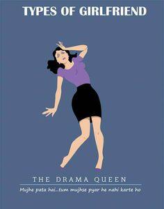 The Drama Queen Types of #girlfriend  #GFRIEND #gftweet #factsnotfear #fact