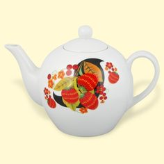 SHOP-PARADISE.COM:  Teekanne aus Porzellan Hohloma 0,75 L 7,99 €