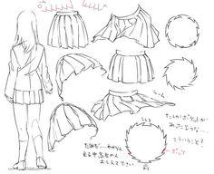 blown up skirt drawing - Google zoeken
