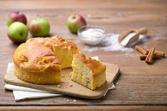 Recette Gâteau de pommes à la crème de ricotta