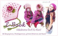 E-Book,Häkelanleitung Mütze für Gross und Klein made by allerlieblichst  via DaWanda.com