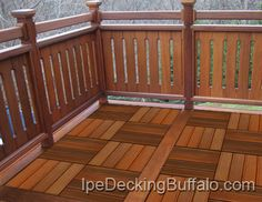 Easy To Build Pallet Decks | Ipe Decking Buffalo - Decking Tiles
