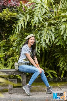 Karen Mok enjoying the outdoors | China Entertainment News