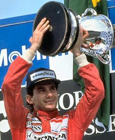Piloto Ayrton Senna, McLaren Honda, Alemania 1990