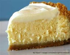 NO BAKE CHEESECAKE - *1 can sweetened condensed milk, *8 oz cool whip, *1/3 C lemon or lime juice, *8 oz cream cheese. - - Bring cream cheese to room temp to avoid lumps, Combine using hand mixer w/milk & cool whip, then juice last. Pour immediately into graham cracker or other crust. Refrigerate 1 to 2 hours.