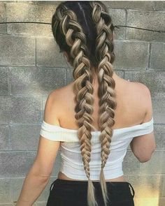 With braided pony women hot tails sexy