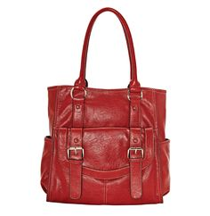 totes ready for all your stuff #handbag #red