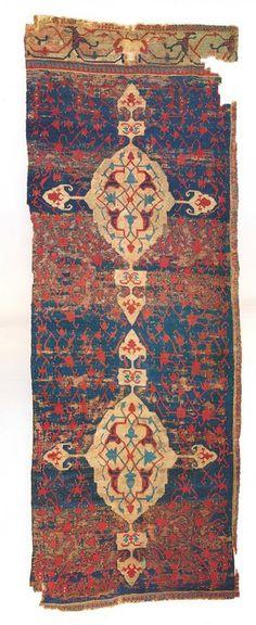 Anatolian carpet fragment Karapinar
