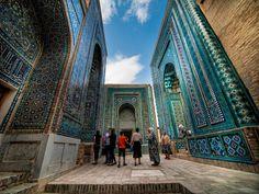 Shah-i-Zinda, Samarkand, Uzbekistan © Liseykina | Dreamstime