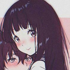 Anime Couples Drawings, Anime Couples Manga, Cute Anime Couples, Anime Angel, Matching Profile Pictures, Tamako Love Story, Art Manga, Cute Anime Pics, Anime Profile
