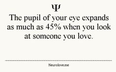 fun fact .... i bet my eyes do that when i look at you :)