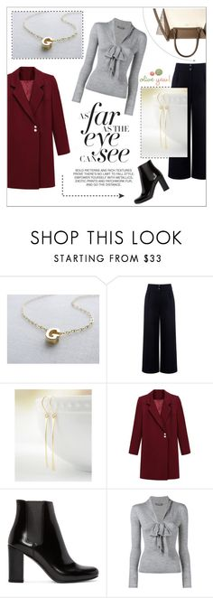 """Oliveyewjewelry"" by water-polo ❤ liked on Polyvore featuring Être Cécile, Yves Saint Laurent, Alexander McQueen, Vince Camuto, women's clothing, women's fashion, women, female, woman and misses"