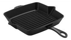 Amerikaanse grill Kitchenware, Cast Iron, Dishwasher, American, Cutlery, Chefs, Cooking, Desserts, Black