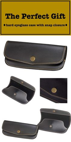 Hard Eyeglass Case With Snap Closure #HOLIDAY