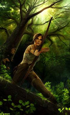 Tomb Raider by akreon.deviantart.com on @deviantART