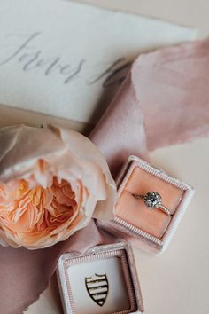 Peach & Coral, An Intimate Elopement in Tuscany: Tanya & Maciej Coral Wedding Themes, Mrs Ring, Creative Wedding Inspiration, Silk And Willow, Ring Shots, Grace Loves Lace, Honey And Cinnamon, Wedding Ring Designs, Gifts For Boss