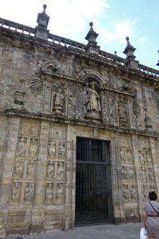 Puerta Santa o Puerta del Perdón de la Catedral de Santiago de Compostela