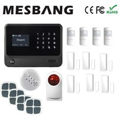 2017 wifi alarm system home security alarm system door magnetic ect with English, French,Russian,Spanish,Dutch #Affiliate