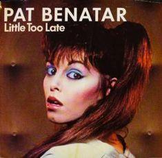 Pat Benatar-Little Too Late 1982 Pat Benatar, Madonna Albums, Female Songs, Rock And Roll Fantasy, Rock Videos, Rock Artists, Female Guitarist, Women In Music, Sexy Older Women
