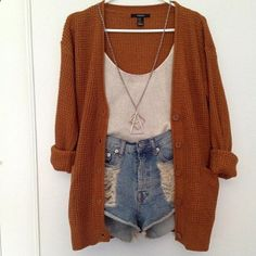 Absolute love for the cardigan color!!! Love love love this outfit