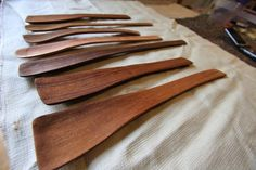 Hand Carved Wood Spoon Set | Flickr - Photo Sharing!