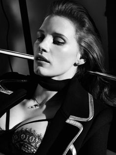 Jessica Chastain by Craig McDean for Interview Magazine October 2014