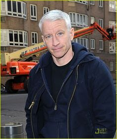 Anderson Cooper not reporting the news in a suit and tie. (he still looks delicious in a shirt and jacket) Cnn Anderson Cooper, Clinton Anderson, Sanford Florida, George Zimmerman, Chris Cuomo, Walk Free, Kathy Griffin, Trayvon Martin