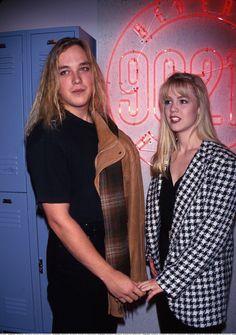 Jennie Garth and Daniel Clark #loveinthe90s