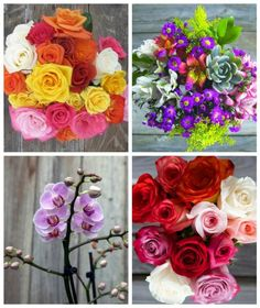 Our favorite fresh flowers: The bouqs. Fast free shipping, and they actually arrive looking like the photos!