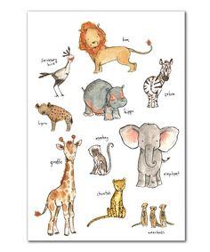 Safari Print