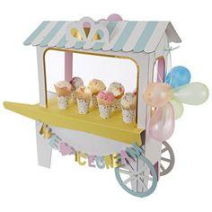 IJsjes en Donuts Thema - www.confettienco.be #decoratie #verjaardag #feest #kinderen #donut #ijs #webshop #ijskar