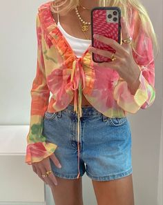 Moda Aesthetic, Aesthetic Fashion, Aesthetic Clothes, Retro Outfits, Cute Casual Outfits, Summer Outfits, Mode Inspiration, Fashion Killa, Swagg