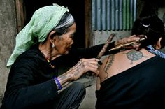 Kalinga's Last Tribal Tattoo Artist by Karen C