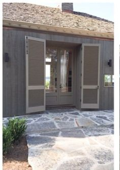 Bill Ingram Bill Ingram, Bermuda Shutters, Minimal Traditional, Stucco Homes, Weekend House, Cottage Exterior, Exterior Remodel, Screened In Porch, Sunrooms