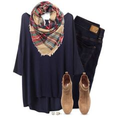 A fashion look from September 2015 featuring American Eagle Outfitters jeans et H&M ankle booties. Browse and shop related looks.
