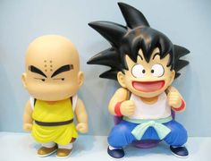 Pack 2 Figuras Goku y Krilin, 16 cms. Dragon Ball Z