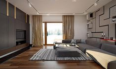 Projekt domu Artus 2 168,87 m2 - koszt budowy - EXTRADOM Modern Small House Design, Modern Barn House, Single Storey House Plans, Bungalow House Design, House Floor Plans, Architecture, Flooring, Furniture, Home Decor