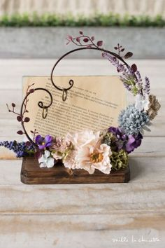 Discover recipes, home ideas, style inspiration and other ideas to try. Diy Wedding, Wedding Favors, Rustic Wedding, Wedding Gifts, Wedding Flowers, Wedding Decorations, Silk Flowers, Dried Flowers, Paper Flowers