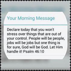 Say no to stress!