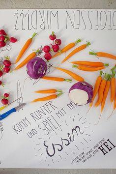 Mit Essen spielt man by decor8, via Flickr