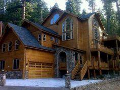 Cool log cabin house