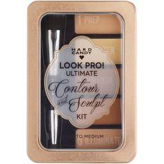 Hard Candy Look Pro! Ultimate Contour & Sculpt Kit, Light to Medium, 0.33 oz - Walmart.com
